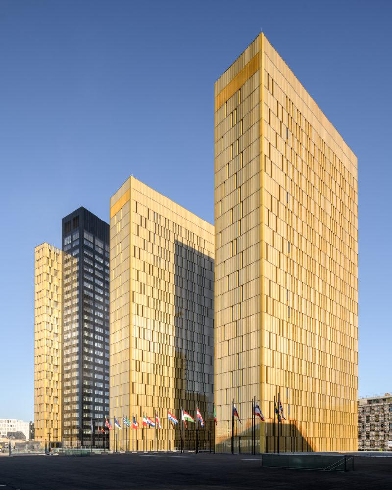 Les 3 tours de la Cours de Justice de l'Union Européenne